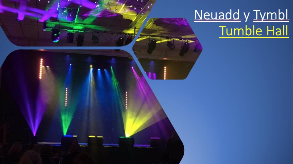 Neuadd Y Tumbl - Tumble Hall shows for 2020